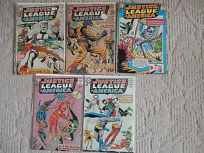 Justice League Of America 5 Issue Lot #15,20,26,27,35 Four Worlds To Conquer