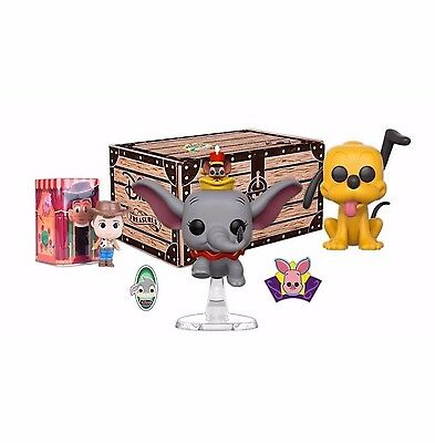 FESTIVAL OF FRIENDS - Funko - Disney Treasures Exclusive Box - Unopened!