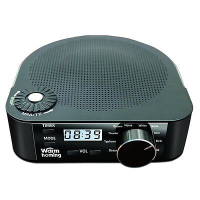 White Noise Machine, Sleep Sound Therapy System, White Noise and Natural for Spa