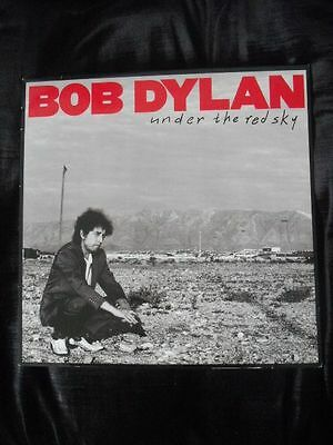 Bob Dylan - Under The Red Sky + Inner LP A-1 B-1 1990