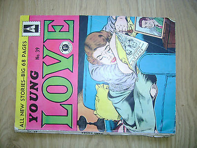 1950s Young Love Comic British edition #39
