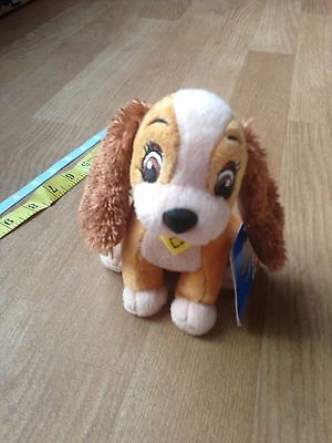 Disney Lady And The Tramp Soft Toy