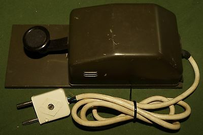 JUNKERS GREEN MILITARY German cold war straight morse key on steel base QRP