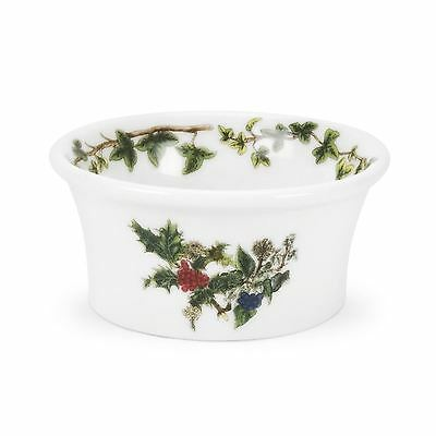 Portmeirion Holly And Ivy Set Of 3 Tealight Holders