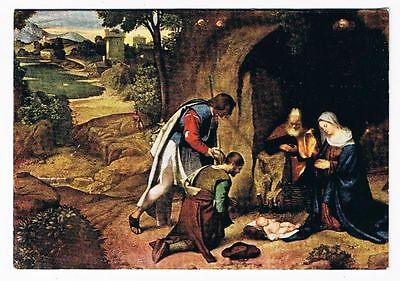 Washington Cathedral Greeting Card Adoration Of The Shepherds National Gallery