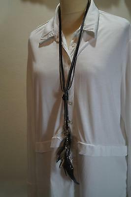 New In Box: Net A Porter Feather Pendant Necklace £395 Ref Nt