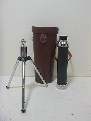 Vintage Observer 30Power 30mm Objective / Telescope w/ Stand & Case