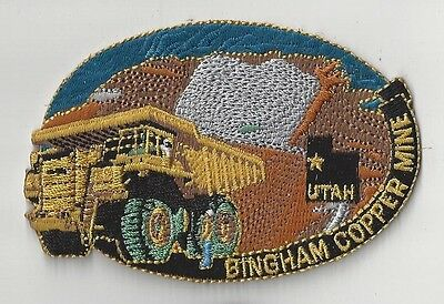 Bingham Copper Mine, Utah Souvenir Patch - Bingham Canyon