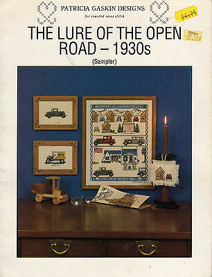 The Lure Of The Open Road Sampler Chart