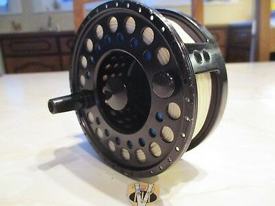 Used Tibor The Gulfstream 10/12 Salmon & Saltwater Fly Reel with Backing & Line