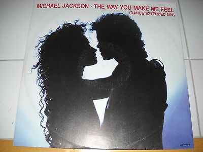 """Micheal Jackson The Way You Make Me Feel 12"""" Vinyl extended dance mix"""