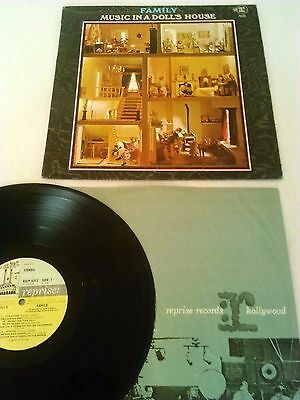 Family - Music In A Doll's House Lp / Uk 1St Press Stereo Reprise Rslp 6312