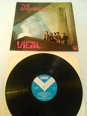 The Easybeats - Vigil Lp Rare Uk 1St Press Mono United Artists 1193 Vanda Young