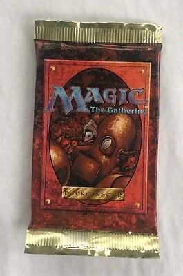 Magic 4th Edition Fourth Sealed Booster Pack Mtg  English Fresh from Box