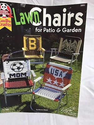 LAWN Chairs Do It Yourself Craft  Pattern Book  How to Suzanne Mc Neill design