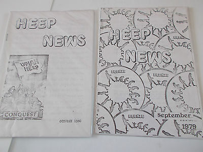 Uriah Heep X2 News Letters From 1979/80
