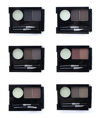 NYX Professional EYEBROW CAKE POWDER w/Wax+Brush DUO Discontinued *YOU CHOOSE*