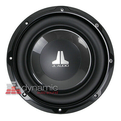 "JL AUDIO 8W1v3 Car 8"" W1v3 Sub Single Voice Coil 4 ohm Subwoofer 300 Watts New"