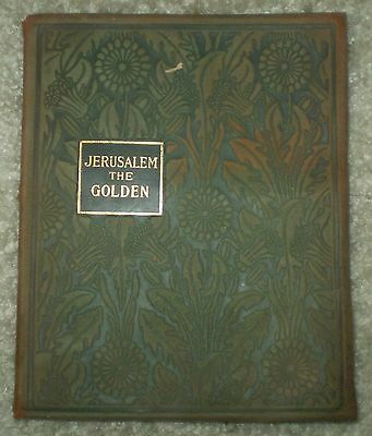 Victorian Book Illustrated With Lithographs, Jerusalem The Golden, By St Bernard