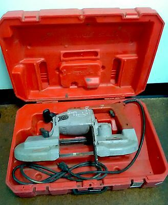 Milwaukee Portable Band Saw 120v Model #6230 WITH case