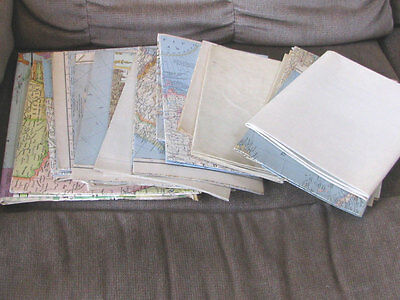 22 Maps, mostly from National Geographic, most in excellent condition. Map LOT
