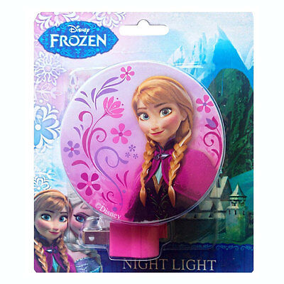 Disney Frozen Anna Floral Decorative Bath Bedroom Kids Night Light NEW