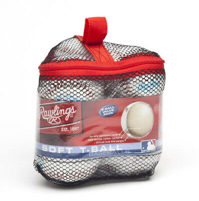 Rawlings T-Ball Practice or Training 6-pack TVBBAG6