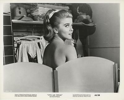 """viva Las Vegas""-Original Photo-Ann-Margret-Bare Back"