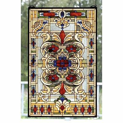 Meyda Tiffany 71268 Tiffany Stained Glass Tiffany Window from the Violet