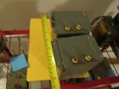 pair of 10 henry 100 ma tube amp power supply chokes 300+ ma