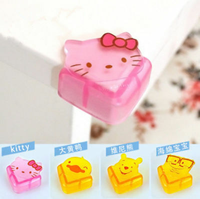 4 x Hellokitty Cartoon Baby Safety Protection of the Corner Protective Cover A90