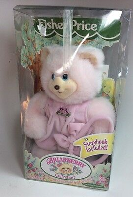 "Fisher Price Briarberry Bear Sarahberry 1998 New in Box 10"" Sarah Berry 74366"