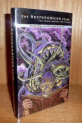 THE NECRONOMICON FILES : THE TRUTH BEHIND THE LEGEND by Harms & Gonce SCARCE 1st