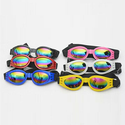 For Pet Dog Cat Puppy Doggles Goggle UV Sunglasses Eye Wear Protection 6 Colours