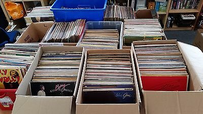 "Joblot 1000 LP 12"" Vinyl Record Albums Classical Pop Easy Country Opera Rock etc"