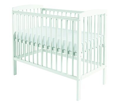 Kinder Valley Compact Cot White With Kinder Flow Mattress