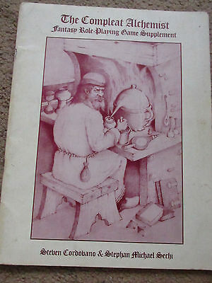 Ad&d The Compleat Alchemist Bard Games Vgc   Advanced Dungeon Dragon