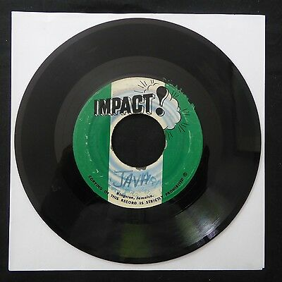 "AUGUSTUS PABLO Java 1971 IMPACT Jamaican Press 1846 ONE WAY SOUND 7"" 45 REGGAE"