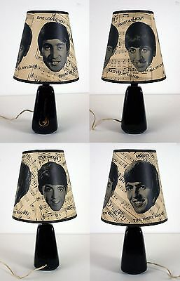 The Beatles 1960s Lamp Base And Shade (UK)