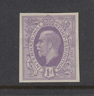 The Ideal Stamp - George V - Mauve - International Stamp Ex.. - (2) - Cinderella