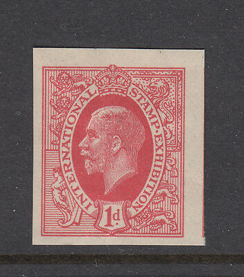 The Ideal Stamp - George V - Red - International Stamp Ex.. - (3) - Cinderella