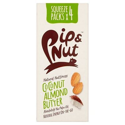 Pip & Nut Coconut Almond Butter Squeeze Pack Multipack 4 x 30g