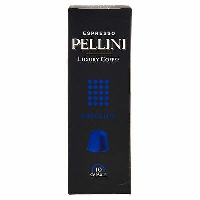 Pellini Luxury Absolute Nespresso Compatible Coffee Capsules 10 per pack