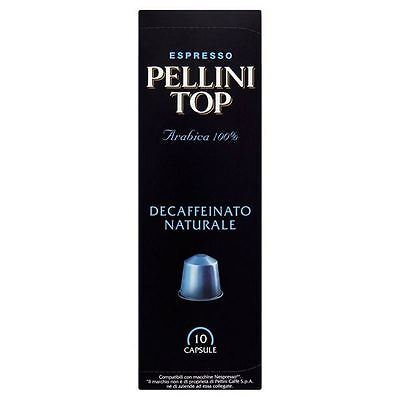 Pellini Top Arabica Decaff Nespresso Compatible Coffee Capsules 10 per pack