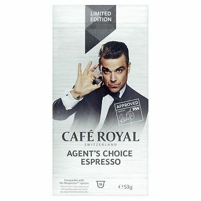 Cafe Royal Agent's Choice Nespresso Compatible Coffee Pods 10 per pack