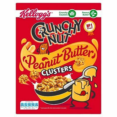Kellogg's Crunchy Nut Peanut Butter Clusters 525g