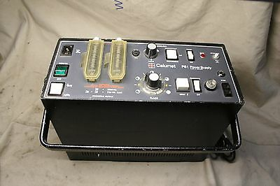 Bowens Calumet  PS1 Power pack/supply for quadmatic head & Accessories 1500WS