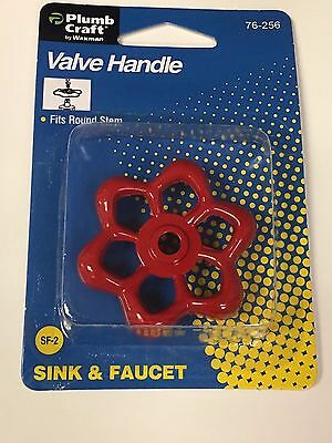 Handle For Garden Hose Water Valve, For Round Stem Valves, Sink & Faucet Also