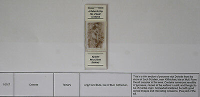 """""""30micron"""" Geological Microscope Thin Section Slide (#46) Kyanite Mica Schist"""