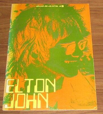 ELTON JOHN Japan TOUR BOOK 1971 concert program MORE LISTED others in stock